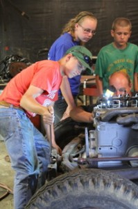 Cover photo for Rusty Bolts Give a Learning Opportunity to Local Youth
