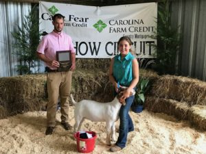 Cover photo for Richmond County 4-H Goat Show