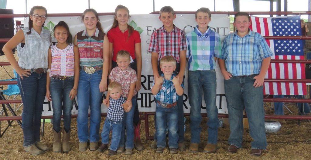 2018 Richmond County 4-H Livestock Goat Showmen