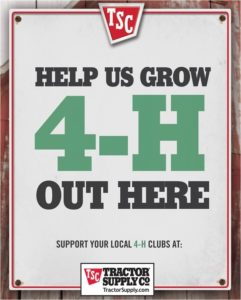Cover photo for 4-H Partners With Our Heroes' Tree and Tractor Supply Company