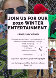 Winter Entertainment flyer image
