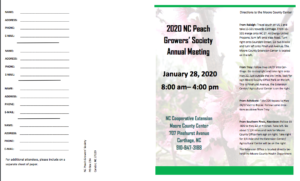 Brochure of NCPGS' annual meeting